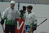 CELKEM SEDMNÁCKRÁT se mohli hokejbalisté Bazzy Děčín radovat ze vstřelení branky.