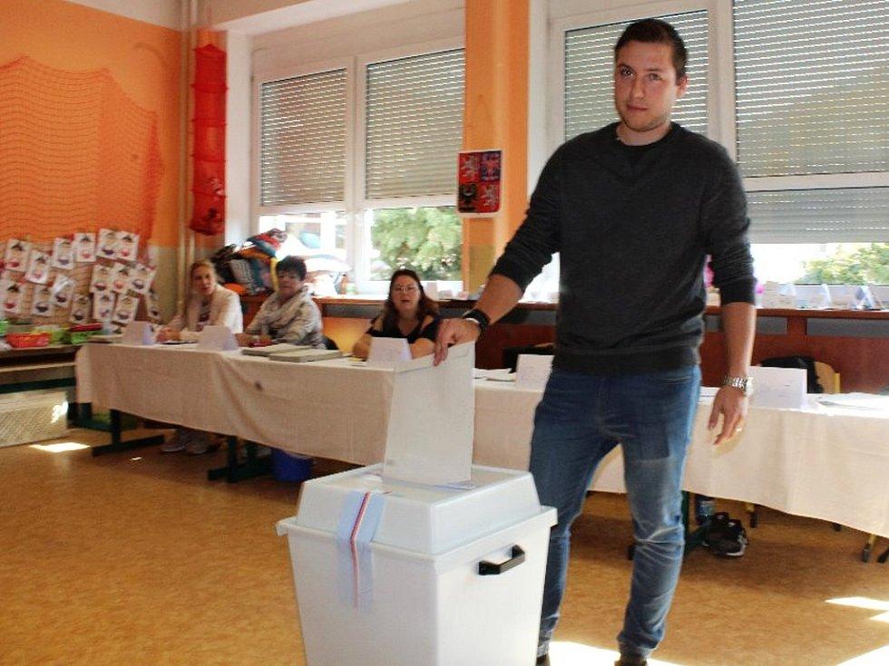 Volby na Základní škole Kamenická v Děčíně