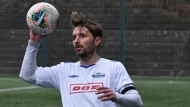 Petr Voříšek v dresu FK Junior Děčín.