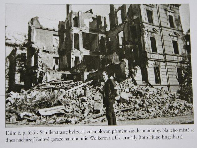 Útok sovětských bombardérů na Děčín 8. května 1945.
