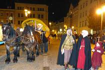Noční slavnosti v Sebnitz.