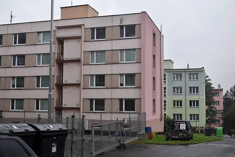 Boletické sídliště v Děčíně.