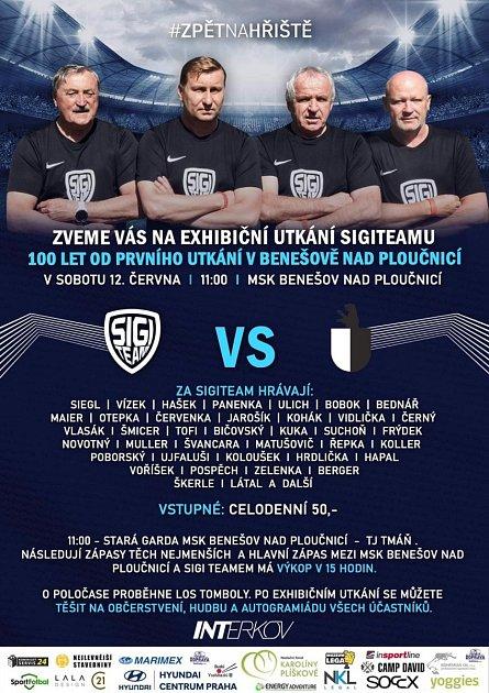 Sigi Team bude hrát vBenešově nad Ploučnicí.