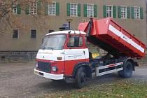 Speciální požární vozidlo Avia 31 K/5.
