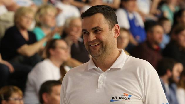 PAVEL BUDÍNSKÝ - trenér BK Děčín.