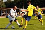 VILÉMOV USPĚL i ve druhém přátelském utkání, když porazil německý SV Weissenfeld (ve žlutém) 3:1.