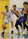 Utkání evropského basketbalového poháru AAC mezi BK ARMEX Děčín a KK Tajfun Šentjur.