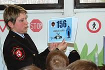 Úkolem Kateřiny Burianové coby strážníka specialisty je prevence kriminality a dopravní výchovy.