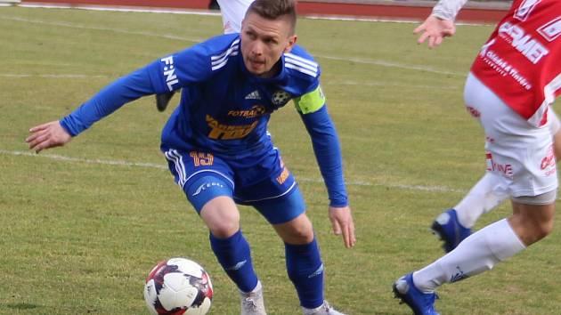 KAPITÁN Varnsdorfu Pavlo Rudnytskyy patří do základní sestavy.