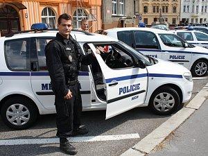 Městská policie Děčín.