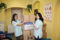 Do sběru vyřazených autolékárniček se zapojila také děčínská střední zdravotnická škola.