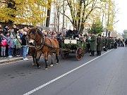 Hubertská jízda projela Šluknovem.