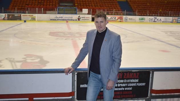 Jan Havlíček - manažer HC Děčín.