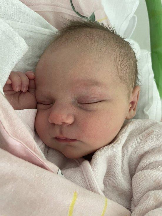 Markéta Trčková se narodila mamince Michaele Rendlové 22. května ve 12.55 hodin. Měřila 49 cm a vážila 3,59 kilogramu.