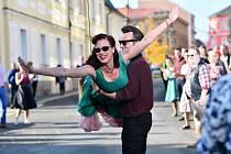 Snímek režiséra Ondřeje Trojana Bourák se natáčel na Šluknovsku. Varnsdorf nebo Rumburk se proměnily ve Šlukdorf.