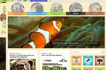 Ukázka z nového webu děčínské zoologické zahrady www.zoodecin.cz.