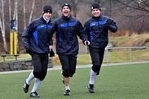 FK Varnsdorf má v nohách první zimní trénink v roce 2012.