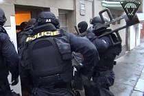 Policejní zásah v Kačence.
