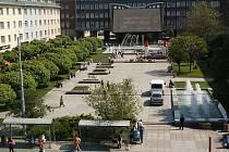 Lidické náměstí v současnosti.