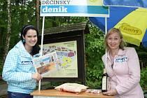 Děčínský deník slavil v zoo 20 let.