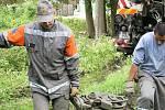 Asanační práce v obci Jánská