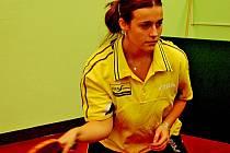 Republikové finále přeboru družstev středních škol ve stolním tenisu si se svou sestrou Zdenou zahraje i Jana Dyškantová.
