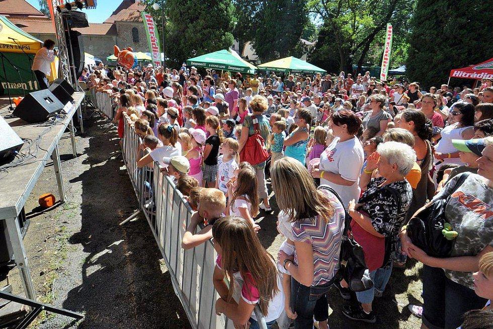Blížící se konec prázdnin oslavili v Rumburku městskými slavnostmi.