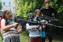 Děti si užily dětský den na Střelnici.