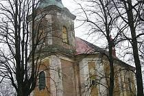 Kostel ve Starých Křečanech