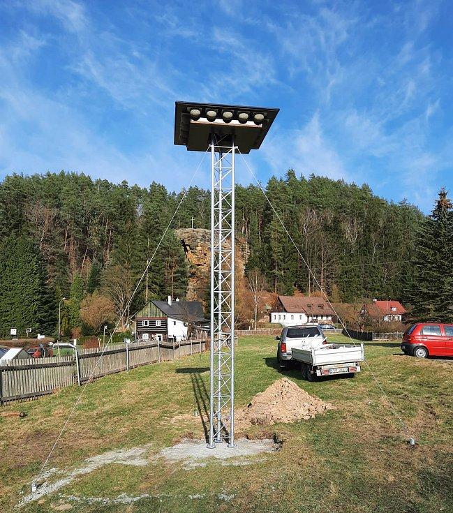 Hnízdní věž v Jetřichovicích.