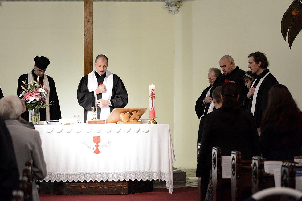 Husitský farář Vladimír Volráb.