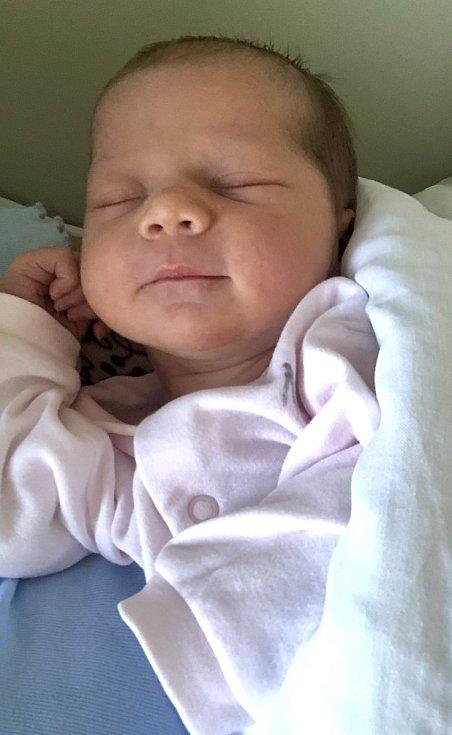 Rodičům Lucii Králové a Davidu Vacuškovi ze Hřenska se 26. října v 11.23 narodila dcera Viktorie Vacušková. Vážila 3,5 kg.