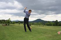 Dobročinný golfový turnaj se tento týden odehrál v Janově na Děčínsku.
