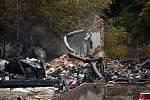 Na Tokání v sobotu pracovali vyšetřovatelé hasičů i policie.