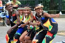 Skupina IYASA ze Zimbabwe v Děčíně.
