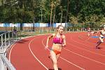 BLANKA PLOCAROVÁ, odchovankyně varnsdorfské atletiky.