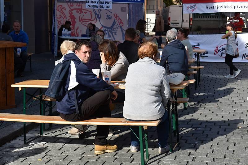 Děčín si o víkendu užíval pivní festival v Podmoklech.