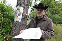 Otec Dominika Bergera z Varnsdorfu organizoval petici za obnovu soudního řízení s vrahem jeho syna.