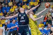 Z OPAVY BEZ VÝHRY. Děčínští basketbalisté prohráli na půdě soupeře i druhý zápas, stav série je 2:2.