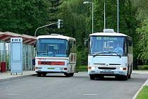 Autobusové nádraží v Děčíně