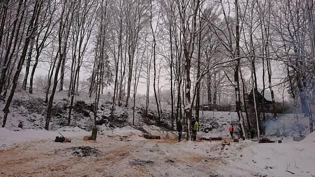 I přes zimu mají Technické služby v Krásné Lípě dost práce.