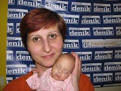 Petře Rožcové z Děčína se 22.3. 2010 v 7.48 hodin v ústecké porodnici narodila dcera Vendulka Haklová. Měřila 36 cm a vážila 1,5 kg.