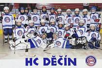 Hokejisté 3. třídy skončili na druhém místě.