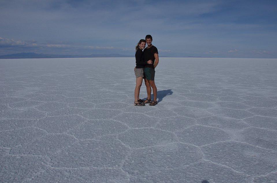 Nekonečné solné jezero