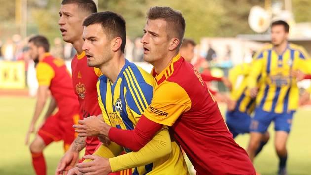 Fotbalisté Varnsdorfu doma prohráli s pražskou Duklou 1:3.