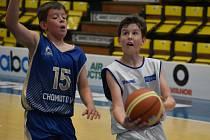 Děčínská basketbalová mládež - ilustrační foto.