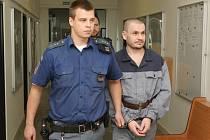 Petr Neufuss stanul ve čtvrtek před ústeckým krajským soudem.