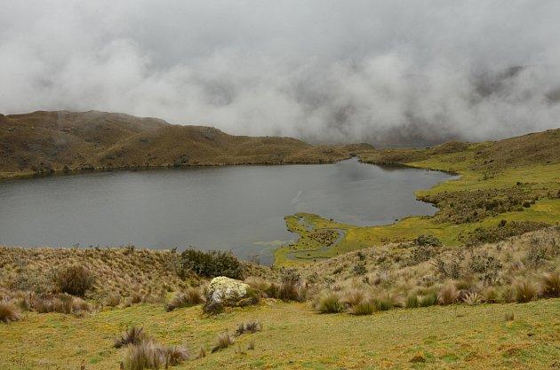 Jedno zmnoha jezer vNP Las Cajas