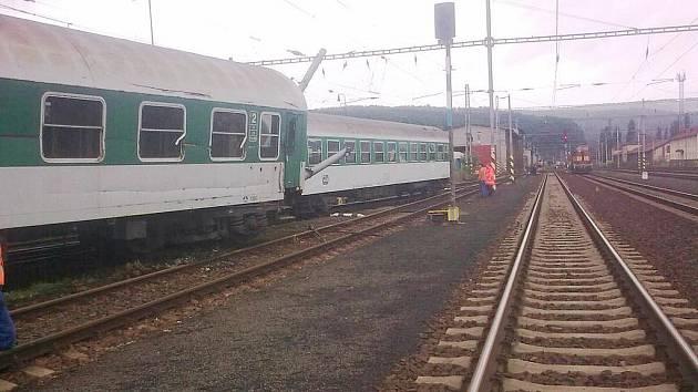 Vykolejené vlaky