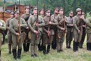 Rumburk si připomněl 100 let od Rumburské vzpoury   Rumburk si připomněl 100 let od Rumburské vzpoury